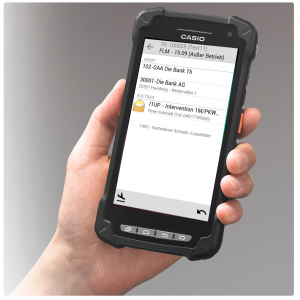 Abbildung eines Android Scanners