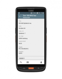 Casio Android Scanner