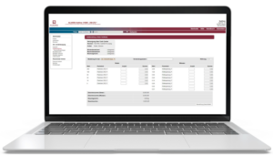 software screenshot
